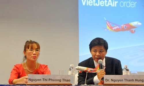 vietjet air chot don hang 64 ty usd